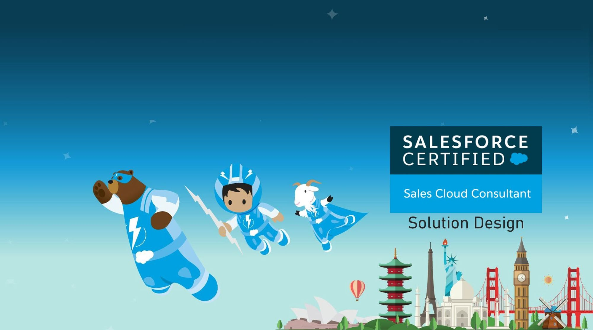 Salesforce Sales Cloud Consultant Exam Preparation: Solution Design