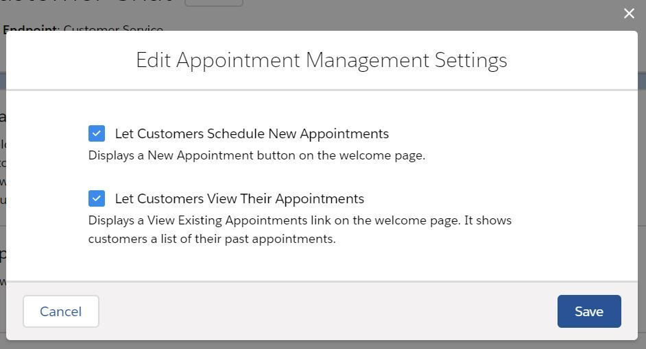 appointment-management-settings
