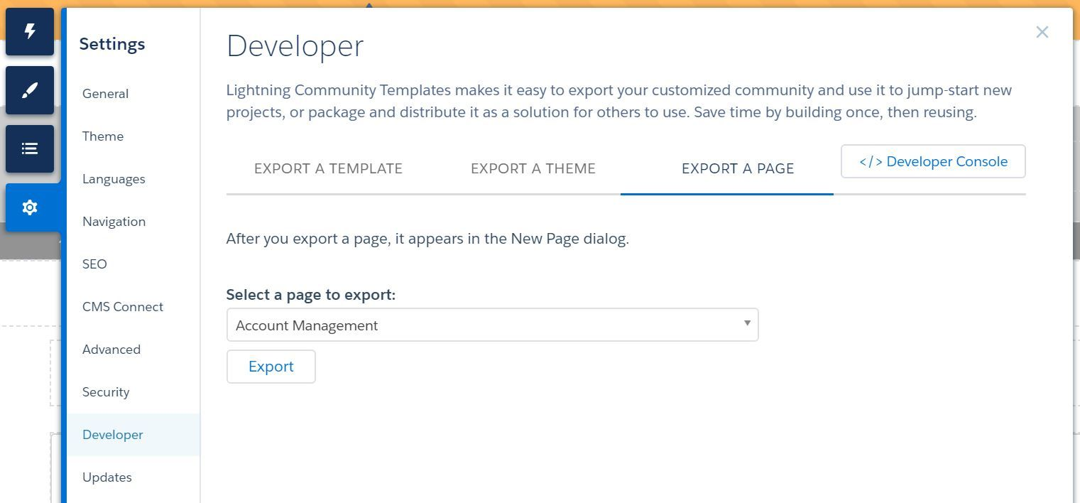 experience-builder-settings-developer-export-a-page