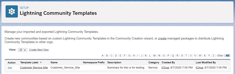 lightning-community-templates