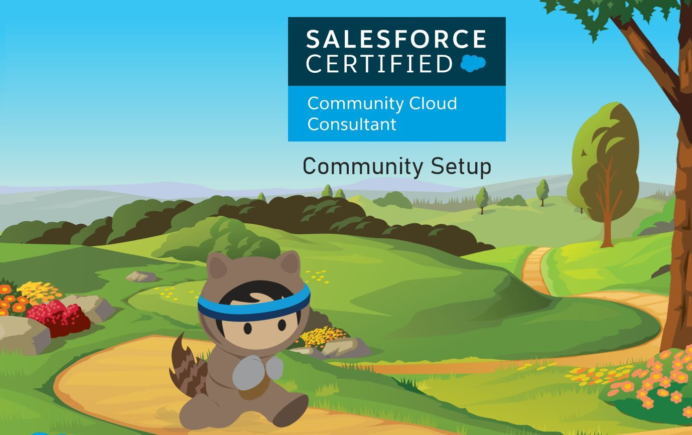 Salesforce Community Cloud Consultant Exam Preparation: Community Setup