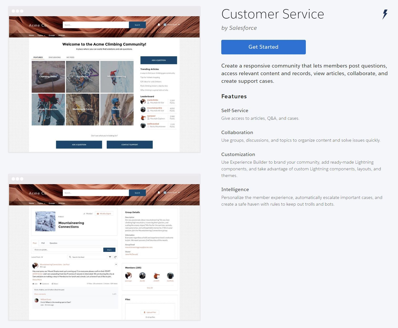 template-customer-service