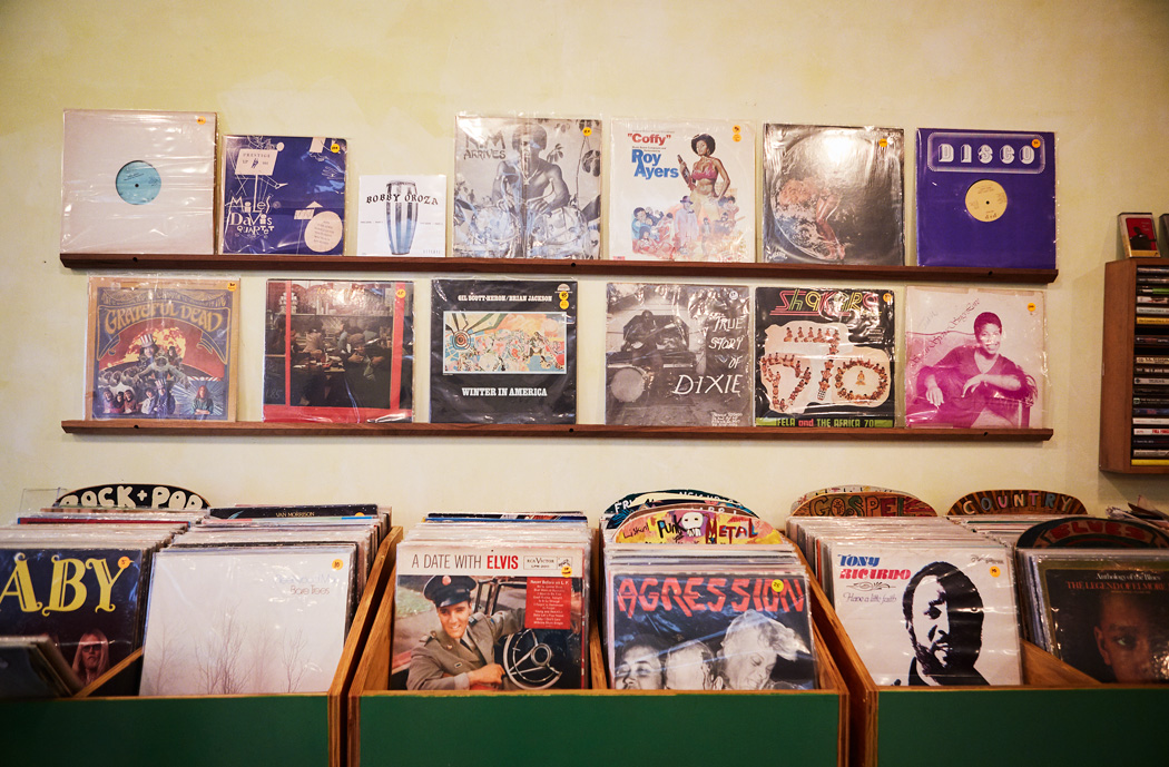 Sunday Afternoon at the Red Hook Record Store – Mask Magazine