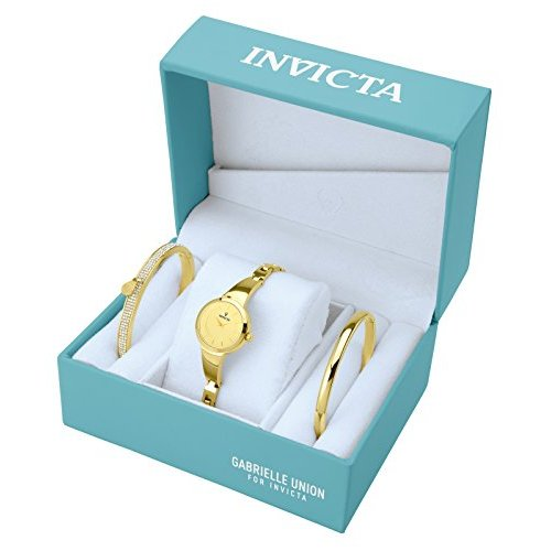 Invicta-Gabrielle-Union-Stainless-Steel-Watch-and-Bracelet-Gift-Set