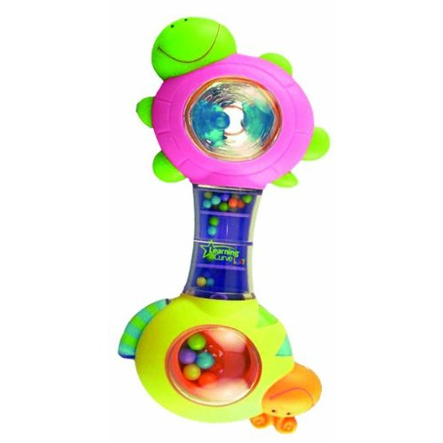 """The First Years /""""Shakin/' Shell/"""" Rattle Toy FAST SHIPPING!"""