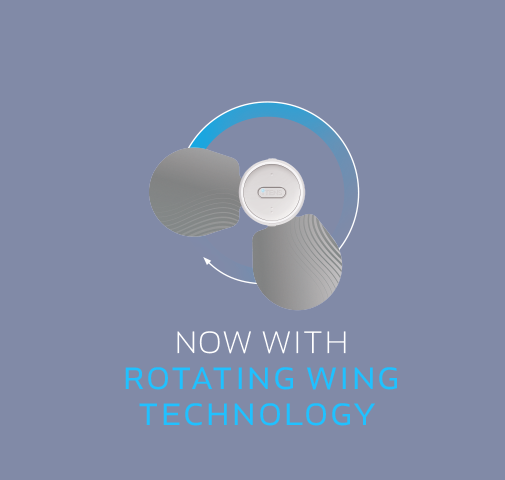 Now with rotating wing technology.