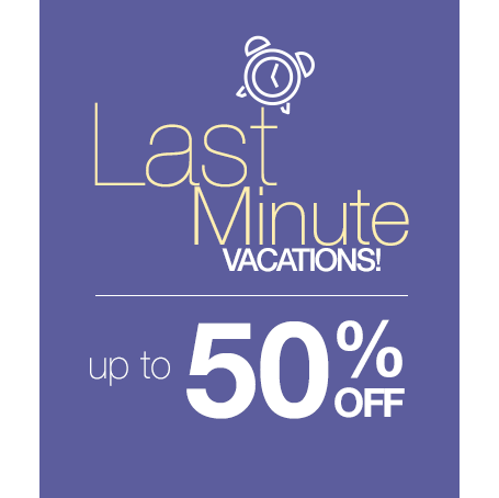 Cheapest prices on last minute vacation deals for Last minute get away weekend