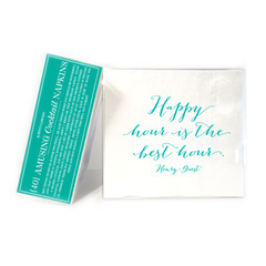 Cheerful Cocktail Napkins