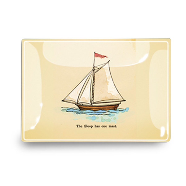 Decoupage Tray - Sloop