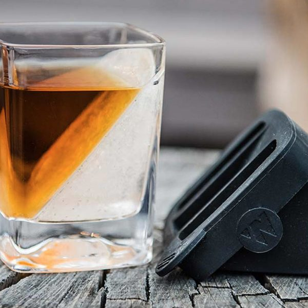 Corkcicle Whiskey Wedge in Glass