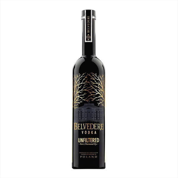 Belvedere Unfiltered Vodka 750ML
