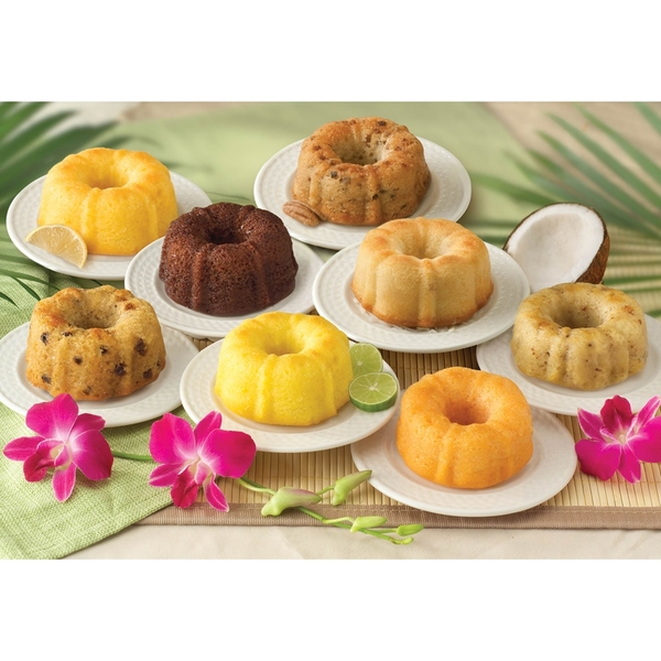 Mini Tropical Cake Sampler