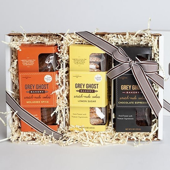 3 Flavor Cookie Gift Box