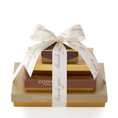 Godiva Sweet Surprise Thank You Gift Tower