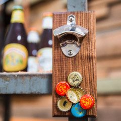 The Homestead Bottle Opener