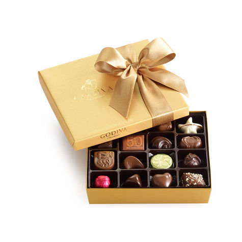 Godiva 19 Piece Assorted Chocolate Gift Box