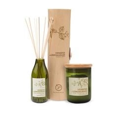 Paddywax Verbena & Lemongrass Candle and Diffuser Set