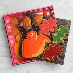 Fall Foliage Cookies Gift Set