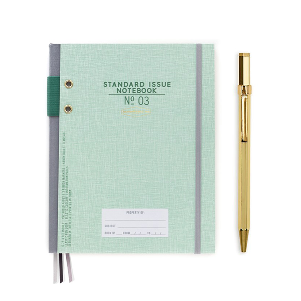 Standard Issue Bullet Planner and Pen Set