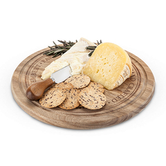 Rounded Cheese Board and Knife Set