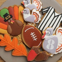 Turkey Bowl Cookie Gift Set