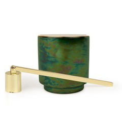 Paddywax Balsam & Eucalyptus Candle and Snuffer Set