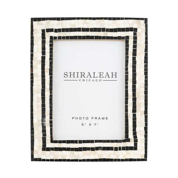 Griggio Mosaic 5x7 Picture Frame