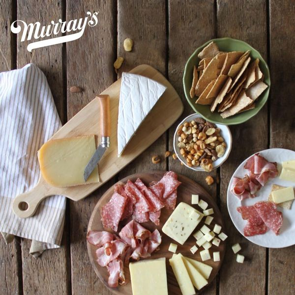 Slam Dunk Snacks from Murray's Cheese