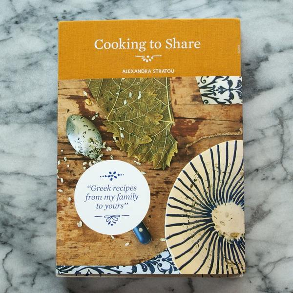 Cooking to Share Greek Cookbook
