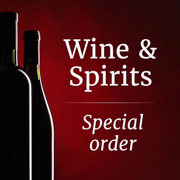 Wine and Spirits Special Order