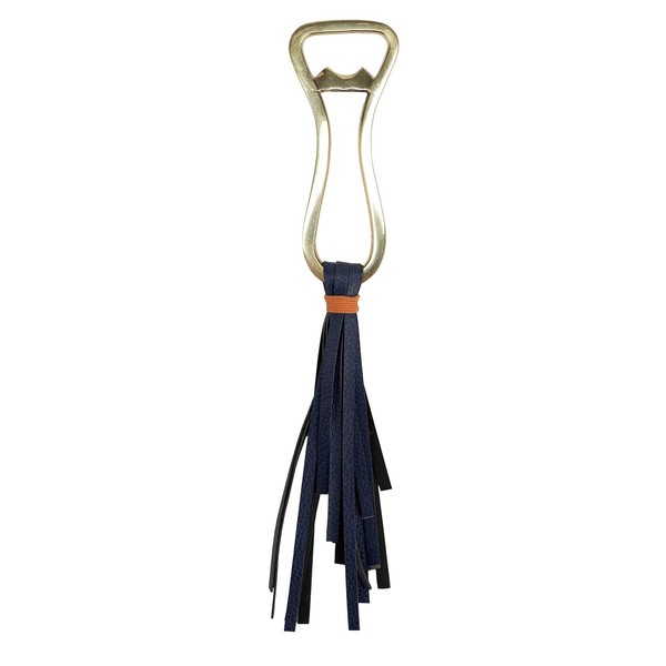 Leather Tassel Bottle Opener