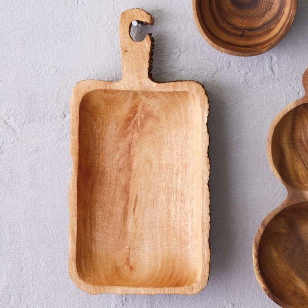 Wood Serving Board with Handle