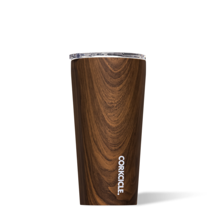 CORKCICLE Walnut Wood Tumbler, 16 oz