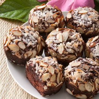 Brownies with Toasted Coconut