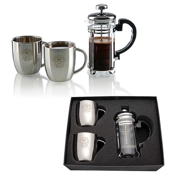Personal French Press Set