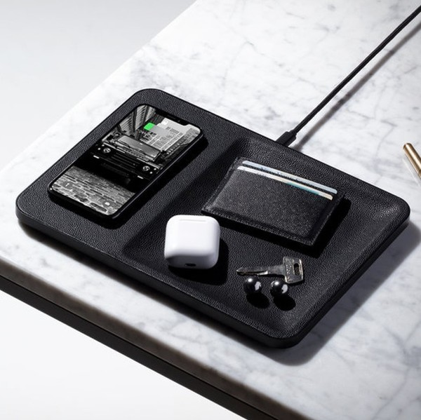 Courant Wireless Charger and Tray
