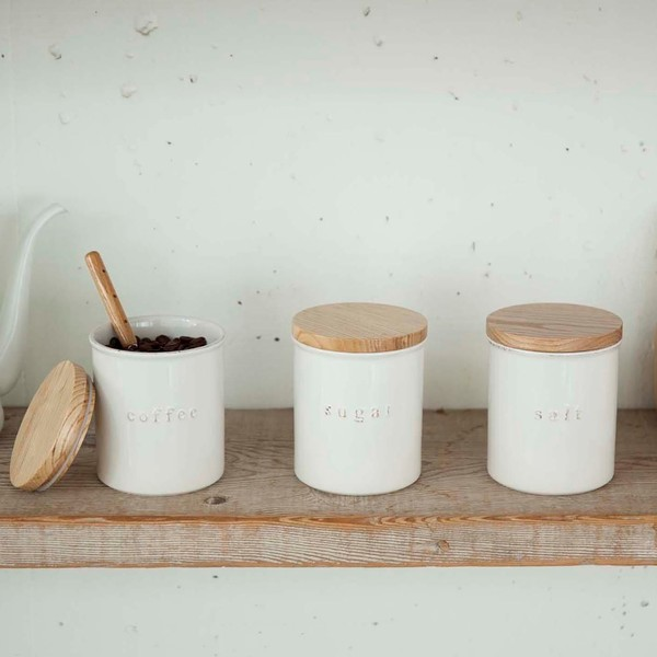 Ceramic Canister Set