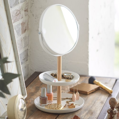 Accessory Tray and Mirror