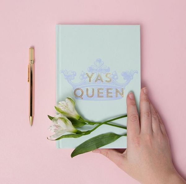 Sassy Queen Hardcover Notebook