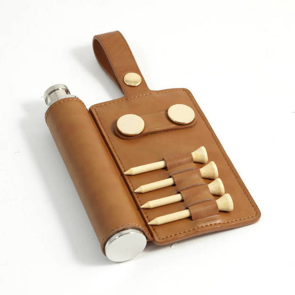 Golf Tag and Flask Orig. $65