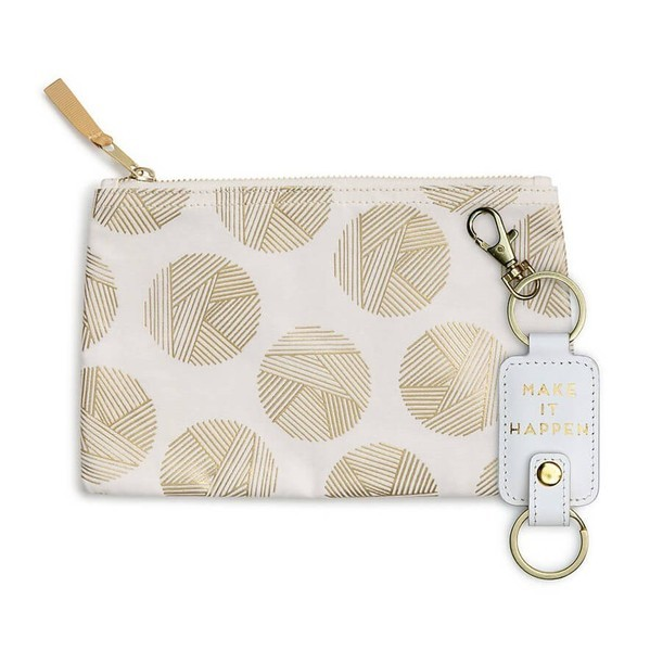 Modern Pouch and Key Fob Gift Set Orig. $34