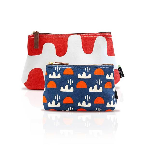 Printed Pouch Set
