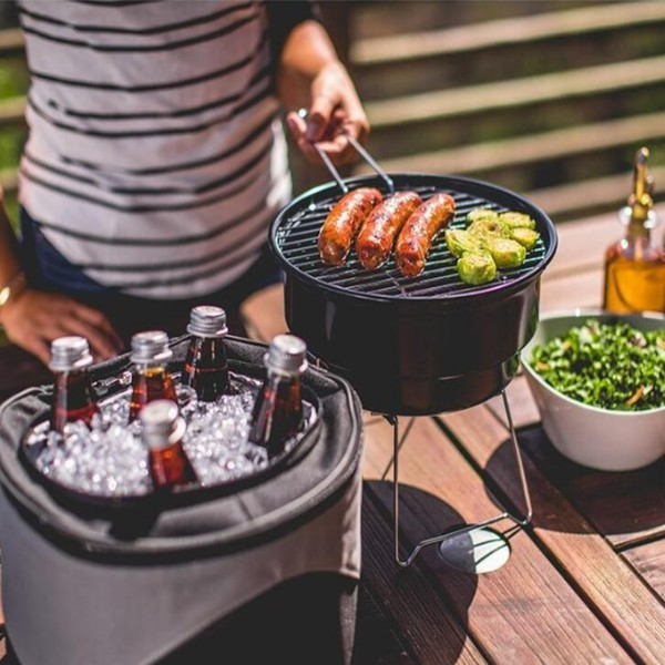 Grill and Cooler Set