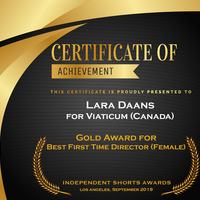 Middle best first time director female