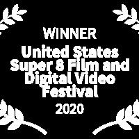 Middle winner   united states super 8 film and digital video festival   2020 white