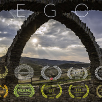Middle allegoria spanish screen poster with laurels for vimeo