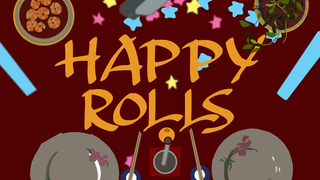 Medium happy rolls poster