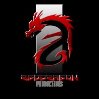 Middle red dragon logo no bg