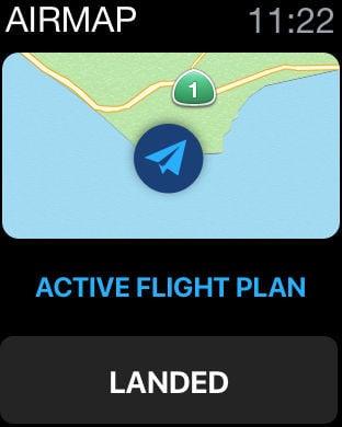 Apple Watch App Watchaware - Airmap app