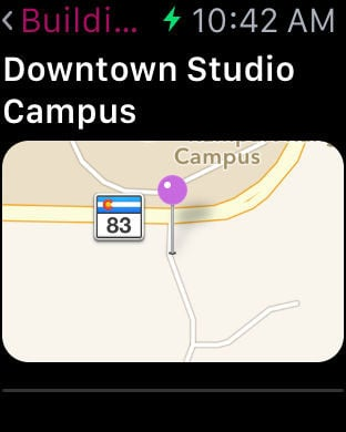 Ppcc Campus Map.Apple Watch App Watchaware